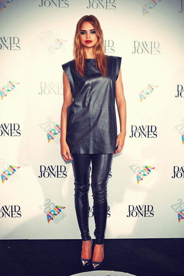 Samantha Harris at the ARIA Awards