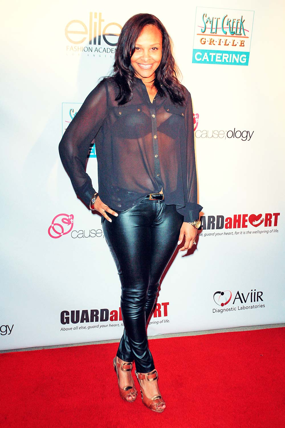 Samantha Mumba attends 2012 Purses from the Heart Charity Event