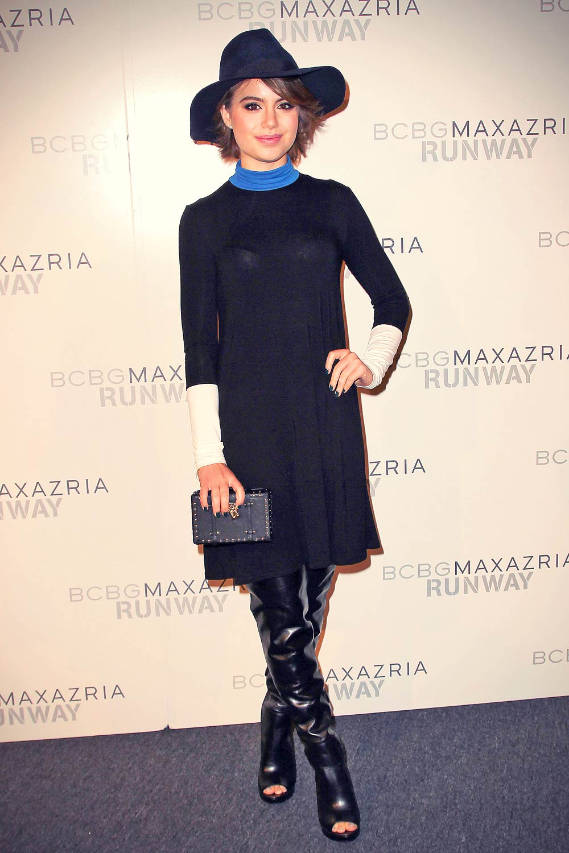 Sami Gayle attends BCBGMAXAZRIA Spring 2016 Runway Show