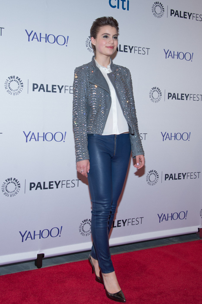Sami Gayle Attends The 2nd Annual Paleyfest Of Blue