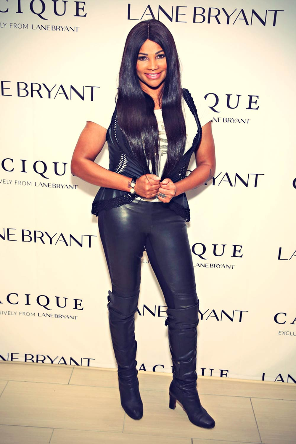 Sandra Denton attends as Lane Bryant celebrates the launch of their campaign #ImNoAngel