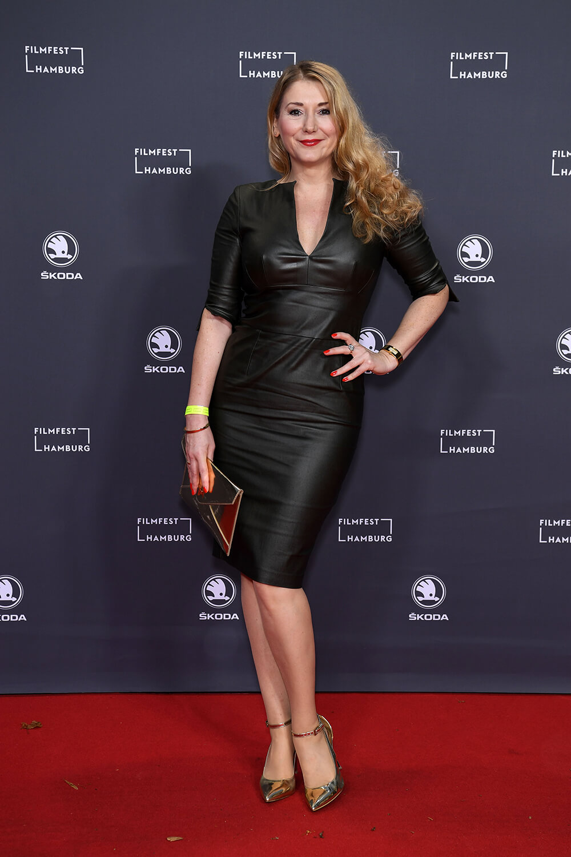 Sandra Quadflieg attends Filmfest Hamburg 2019