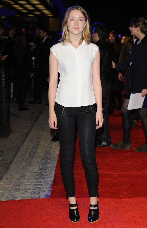 Saoirse Ronan In Time UK Premiere at The Curzon Mayfair