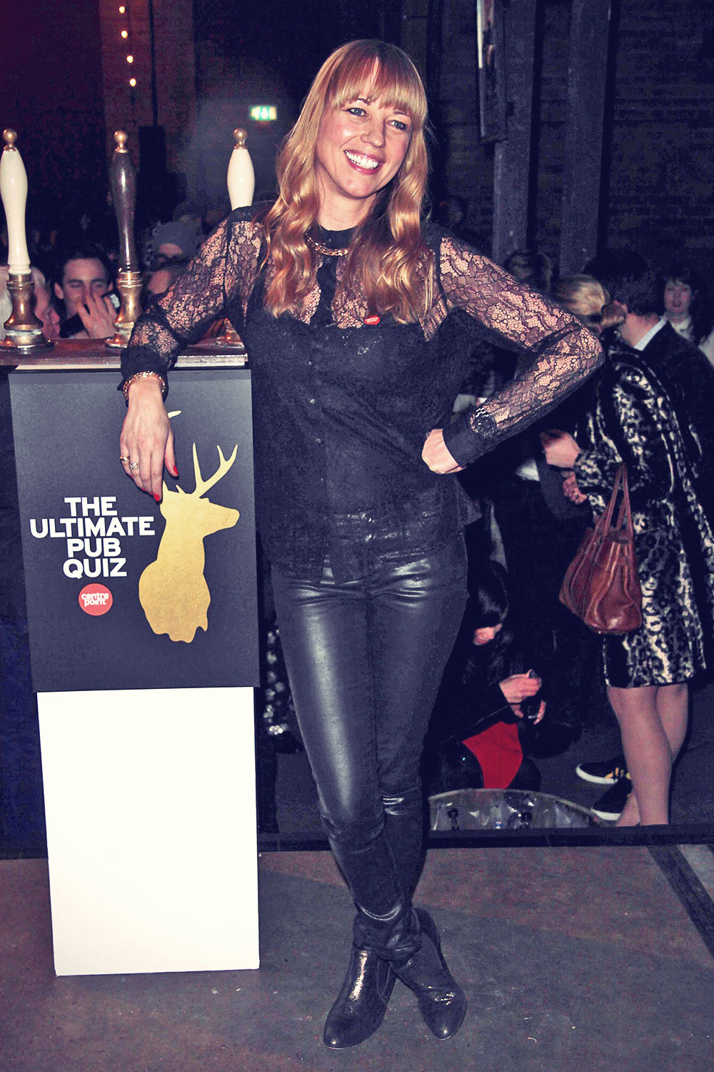 Sara Cox attends Centrepoint's ultimate pub quiz