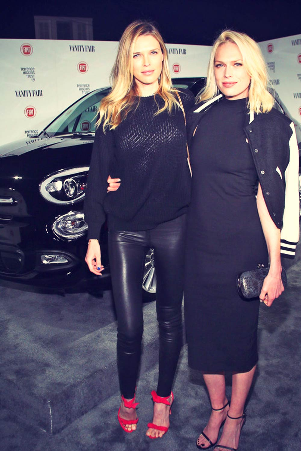 Sara Foster attends Vanity Fair and FIAT celebration of Young Hollywood