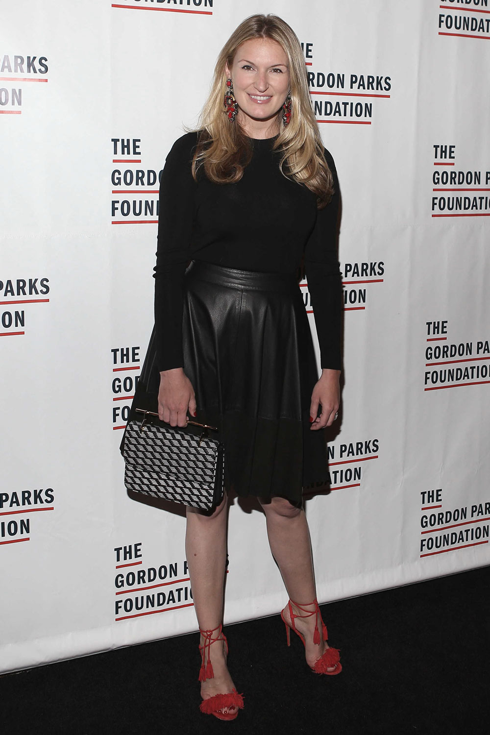 Sarah Arison attends The Gordon Parks Foundation Gala