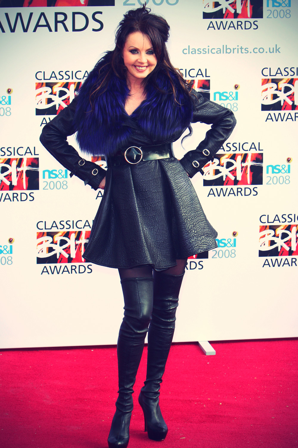 Sarah Brightman at Classical Brit Awards 2008 London