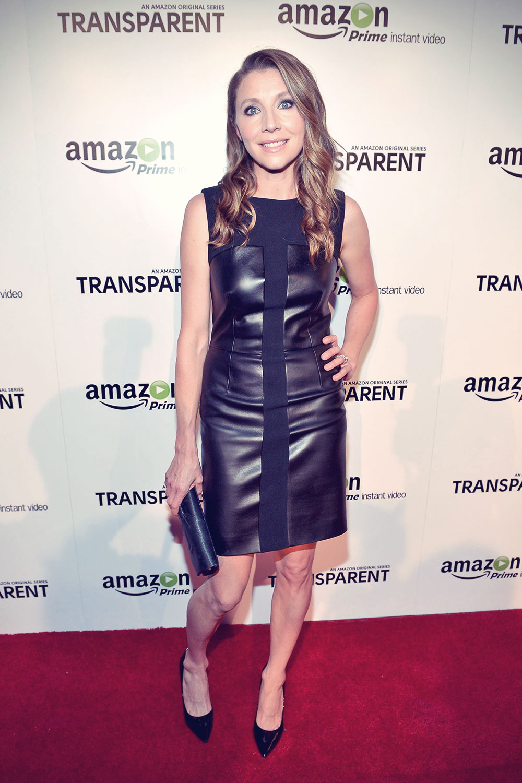 Sarah Chalke attends Transparent Premiere Screening