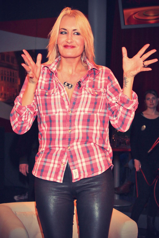 Sarah Connor 3nach9 Talkshow in Bremen