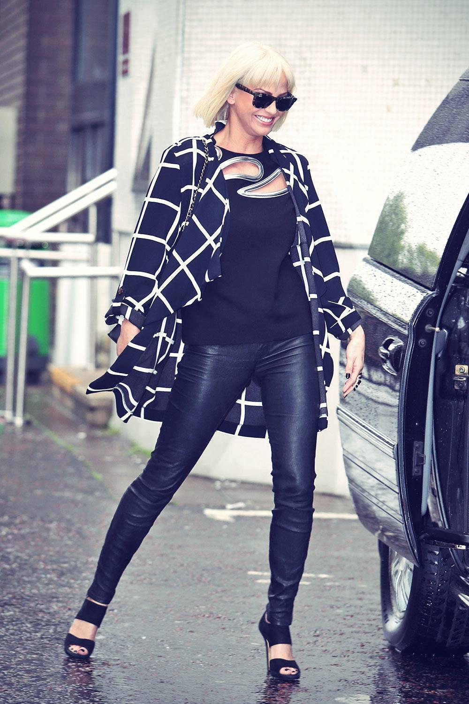Sarah Harding at ITV Studios in London