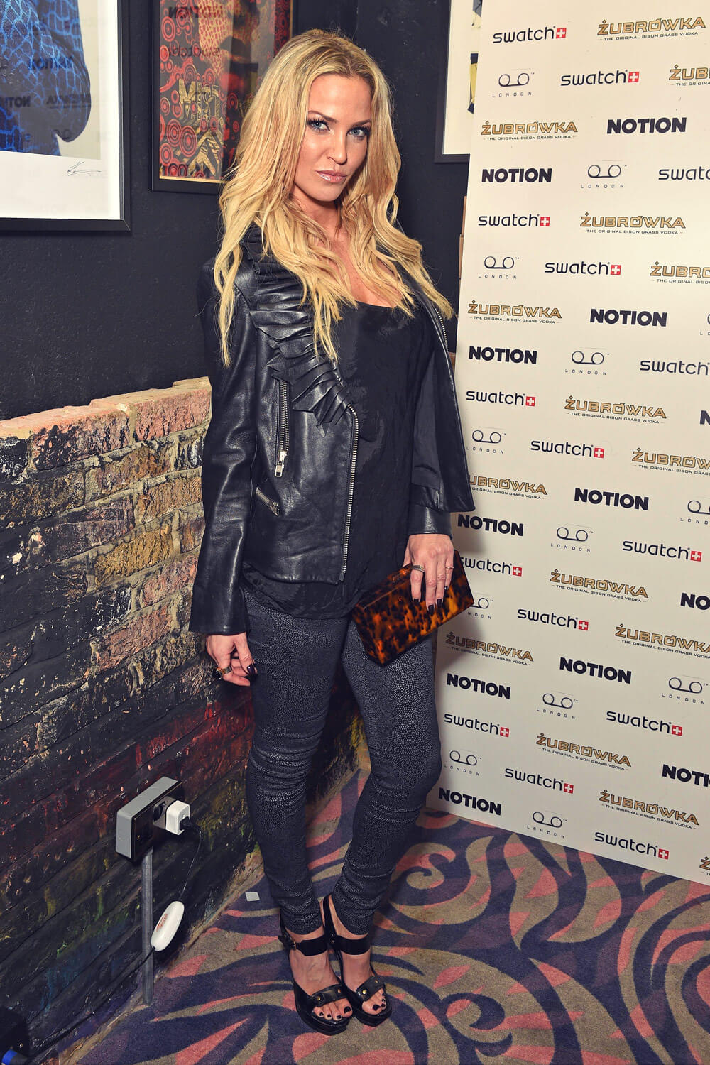 Sarah Harding attends Notion Magazine Issue 72 launch Party