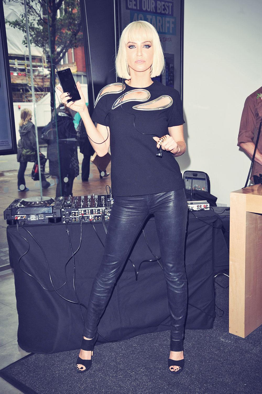 Sarah Harding promo for Carphone Warehouse Sony Xperia Z2