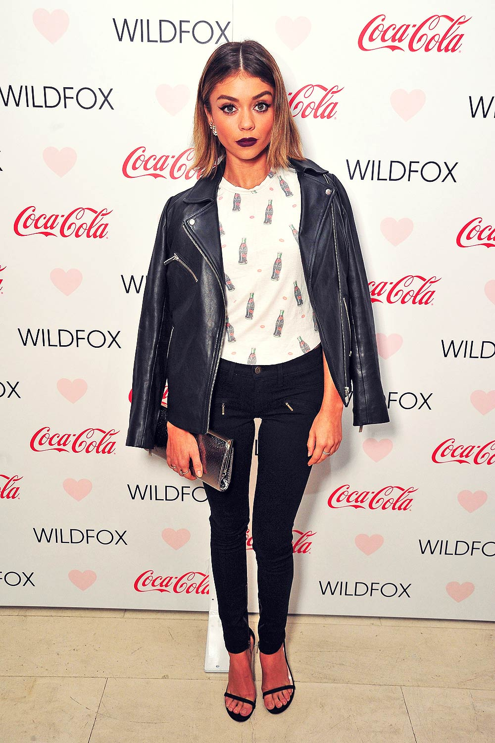 Sarah Hyland Attends Launch Party For Wildfox Loves Coca