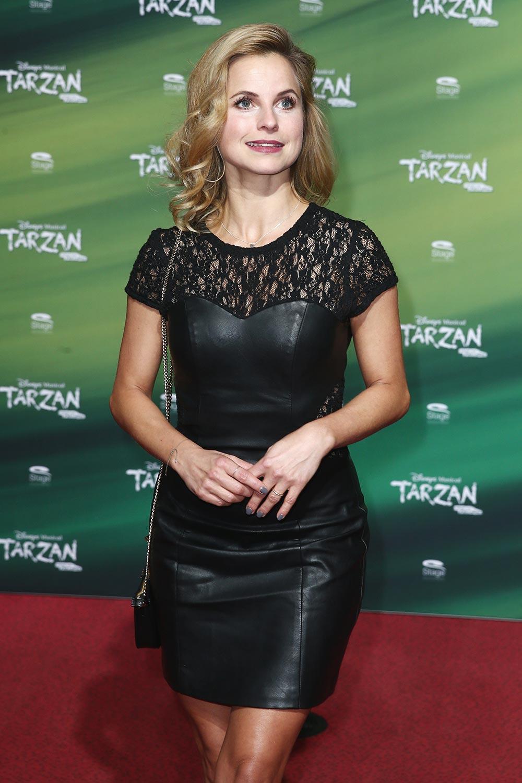 Sarah Latton attends Tarzan Musical Premiere