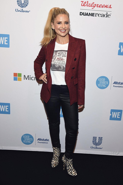 Sarah Michelle Gellar attends WE Day UN 2018