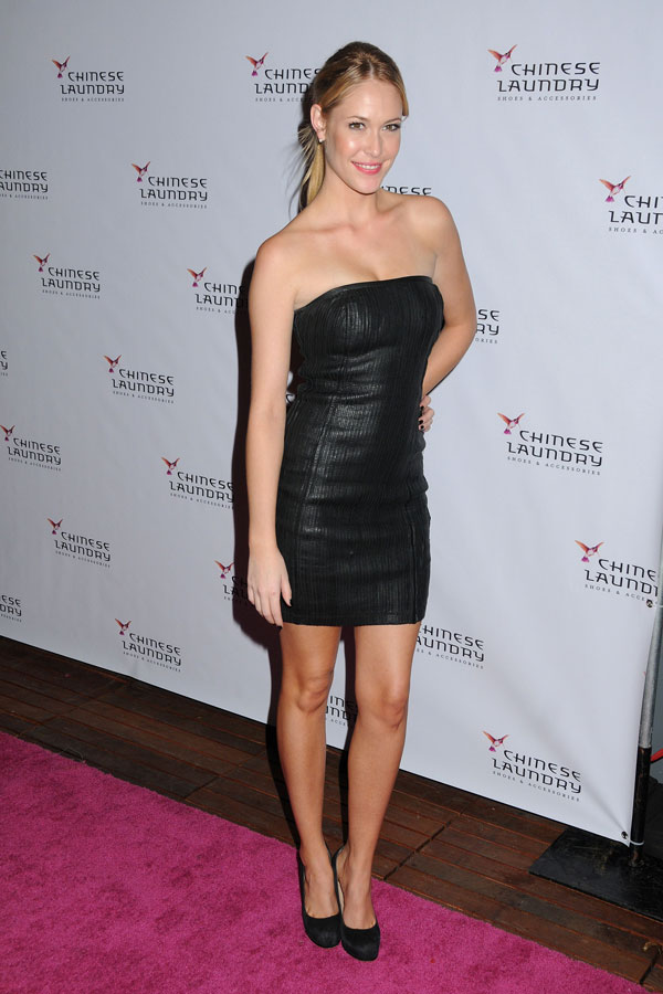 Sarah Carroll attends the Chinese Laundry event to celebrate Kristin Cavallari as the new brand amba