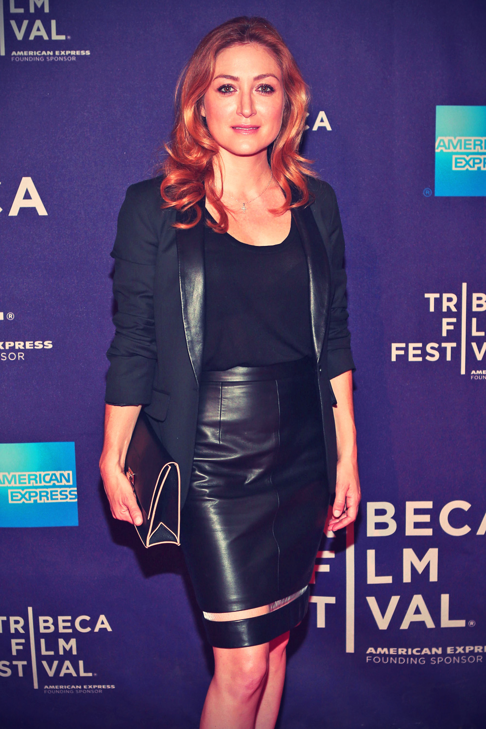 Sasha Alexander attends the Night Shift Belongs To The Stars Screening