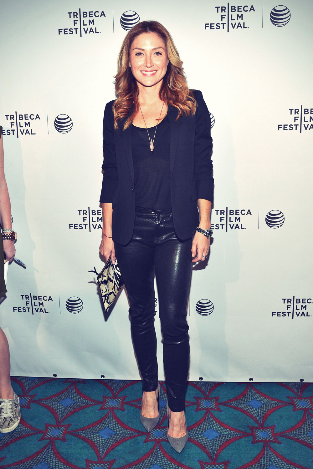 Sasha Alexander attends the Shorts Program Soul Survivors