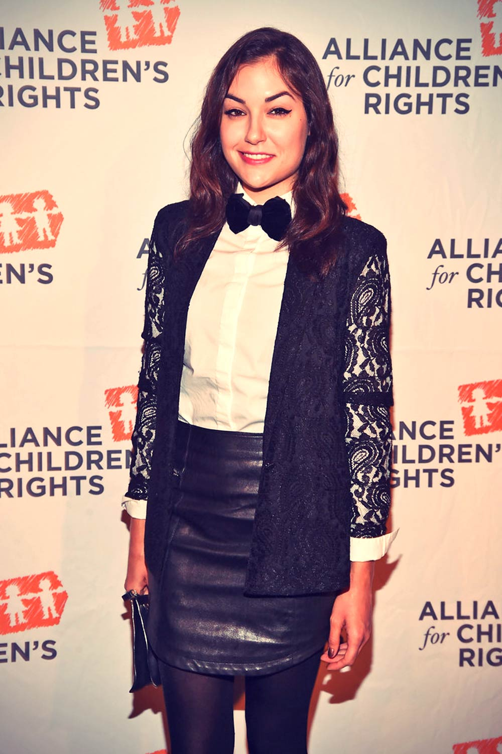 Sasha Grey attends The Alliance For Children's Rights To Laugh