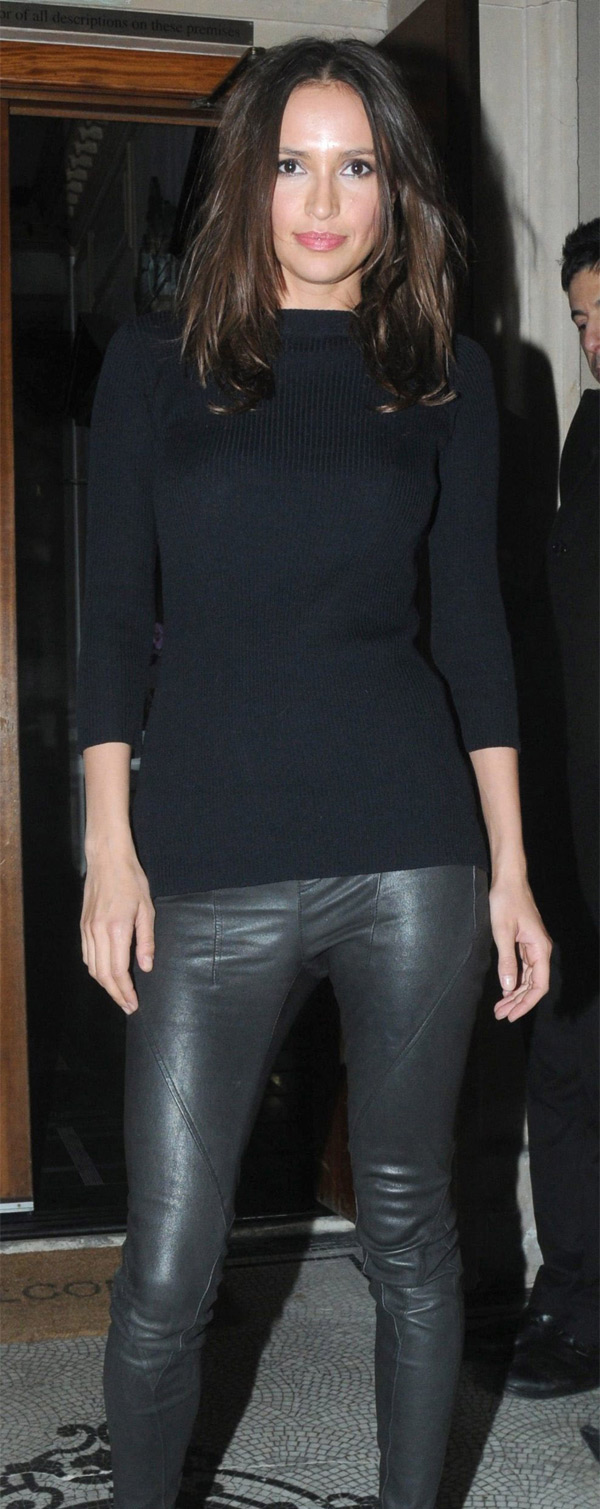 Sasha Volkova at Candy & Candy CEO Nick Candy's 39th birthday party in London