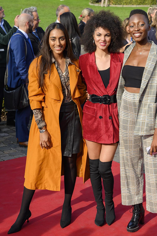 Sayana Ranjan, Julianna Townsend & Toni Dreher-Adenuga attend CHIO MediaNight