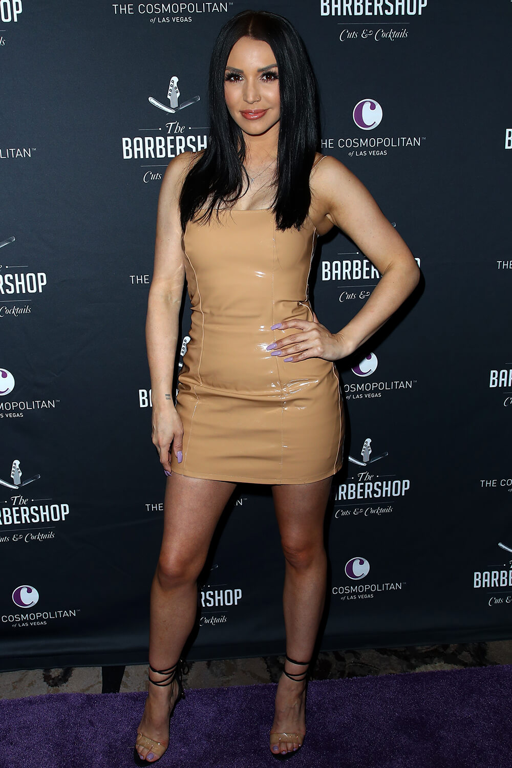 Scheana Marie attends The Barbershop Cuts & Cocktails Grand Opening