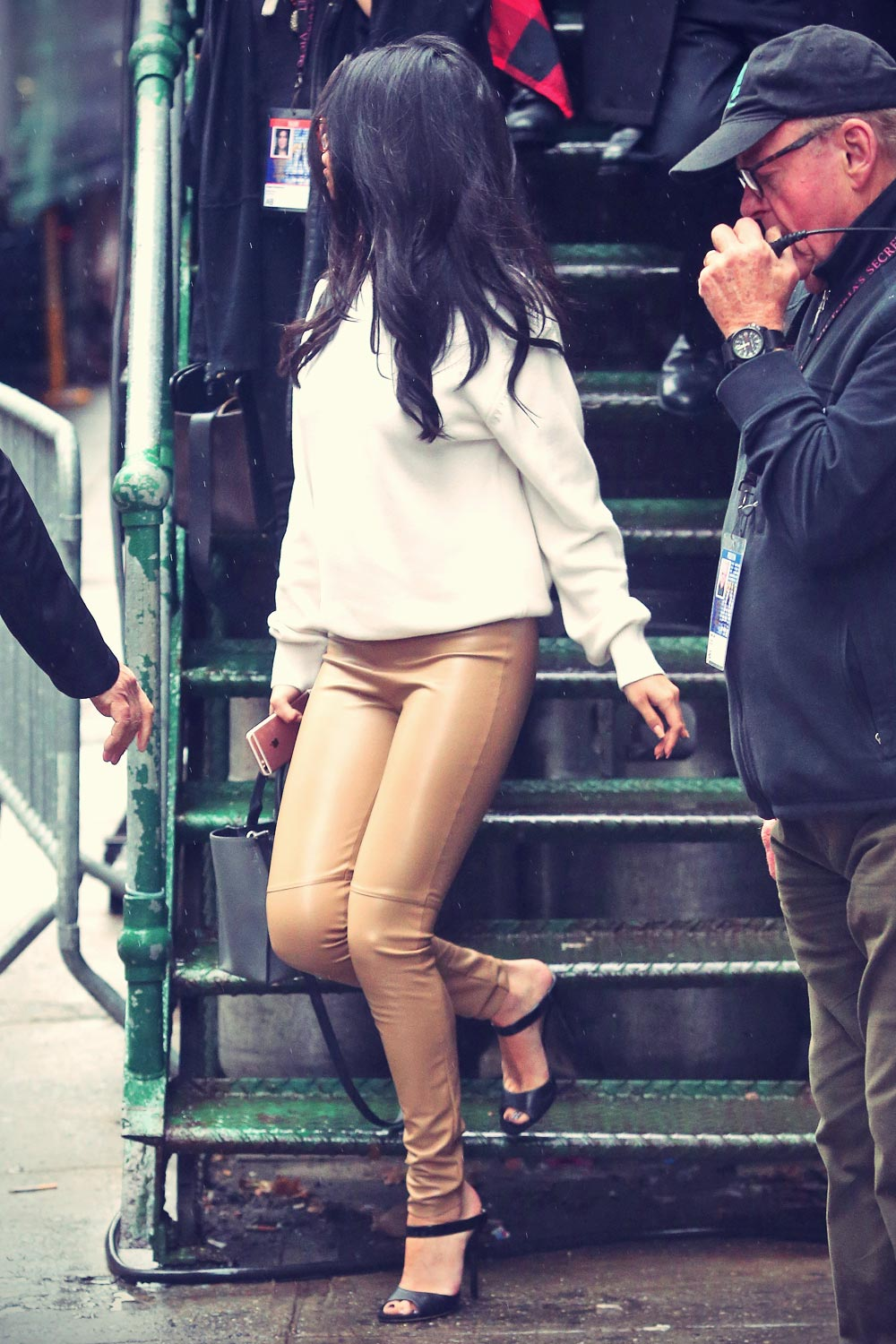 Selena Gomez Leaving The Victoria's Secret Show Rehearsals