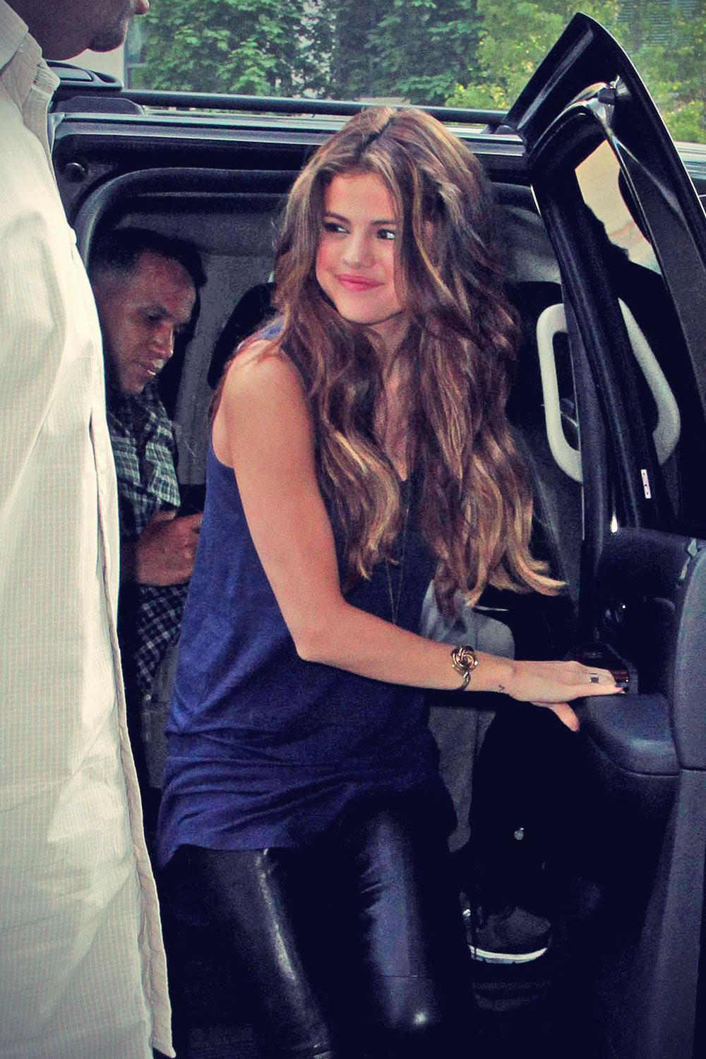 Selena Gomez at 92.5 radio station