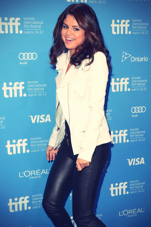 Selena Gomez at Hotel Transylvania Photocall