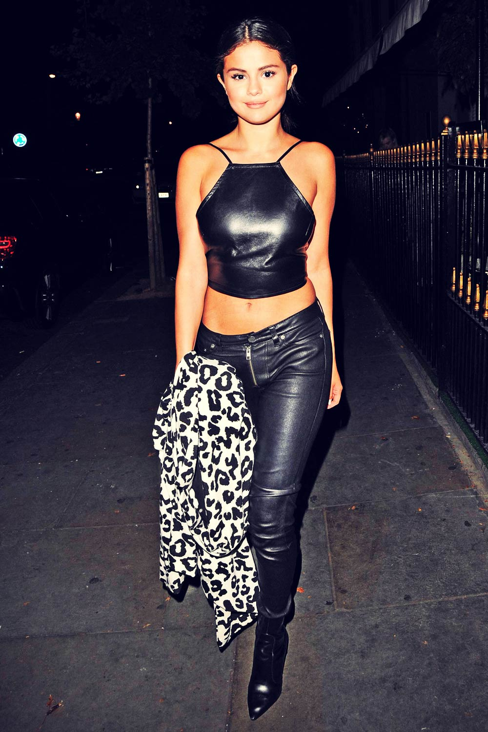Selena Gomez night out in London