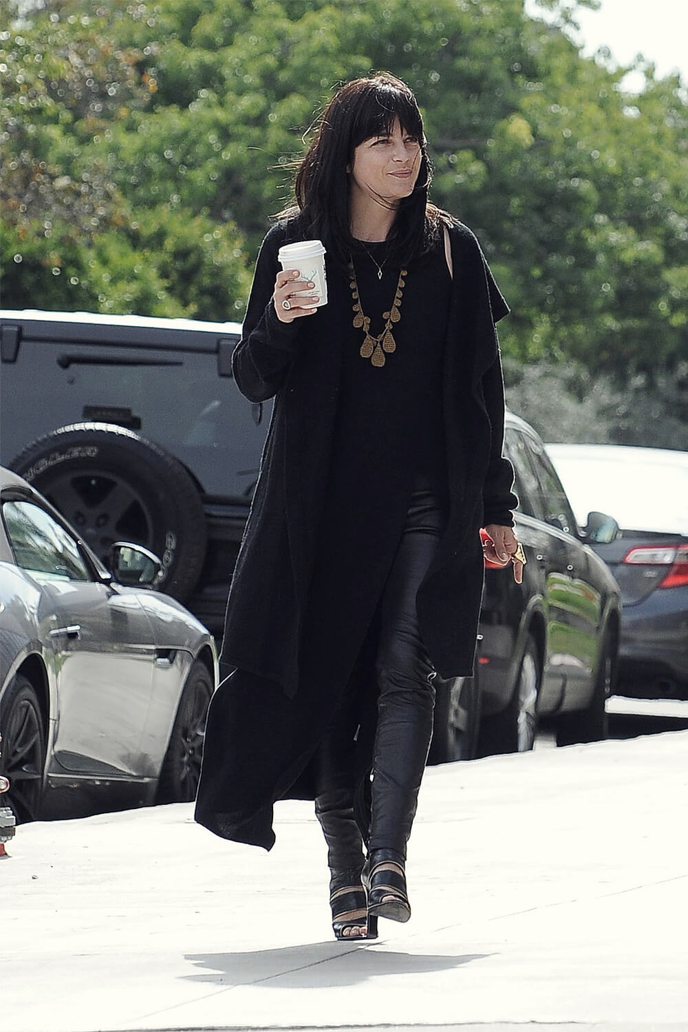Selma Blair out in LA