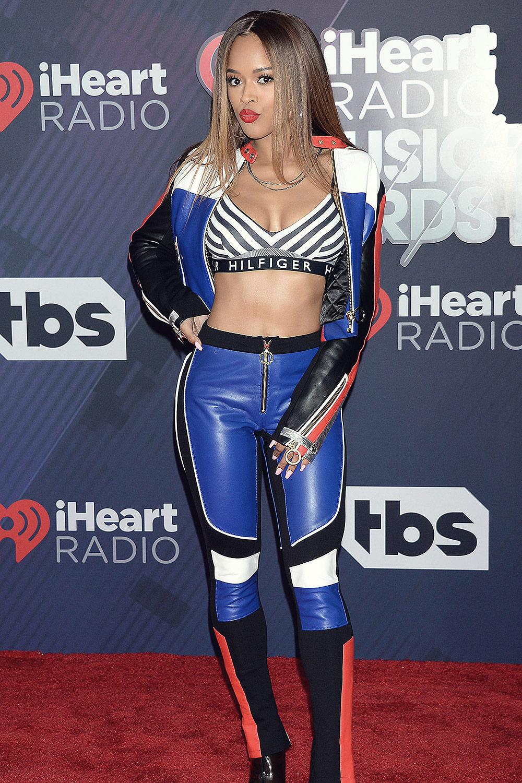 Serayah McNeill attends iHeartRadio Music Awards