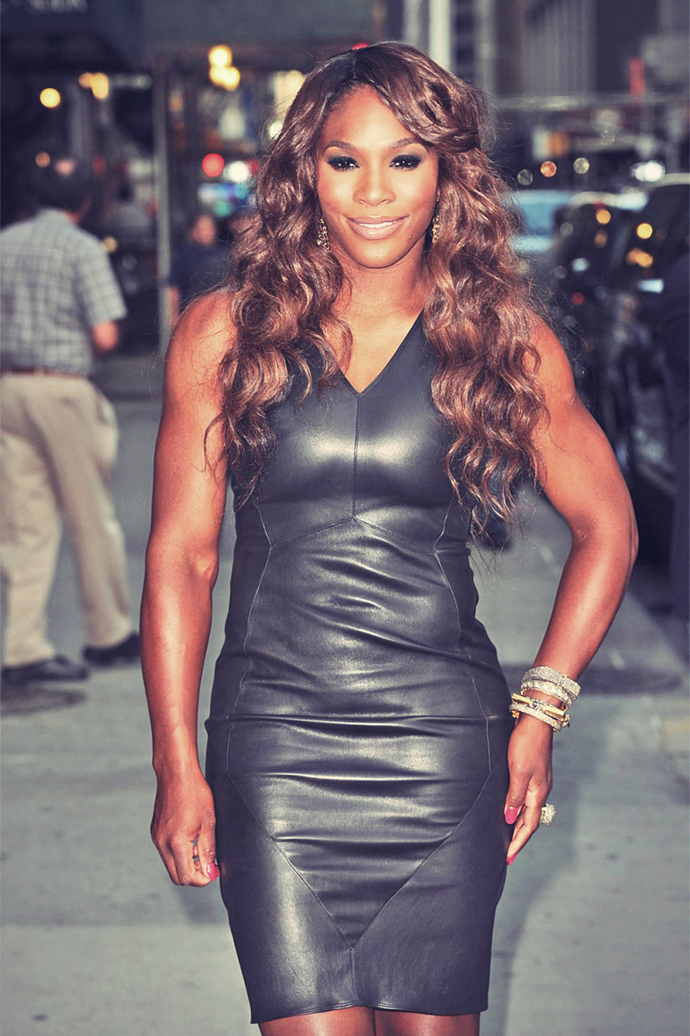 Serena Williams appearance on The Late Show with David Letterman