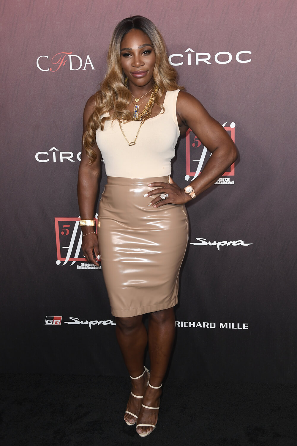 Serena Williams attends 4th Annual Sports Illustrated Fashionable 50 Party