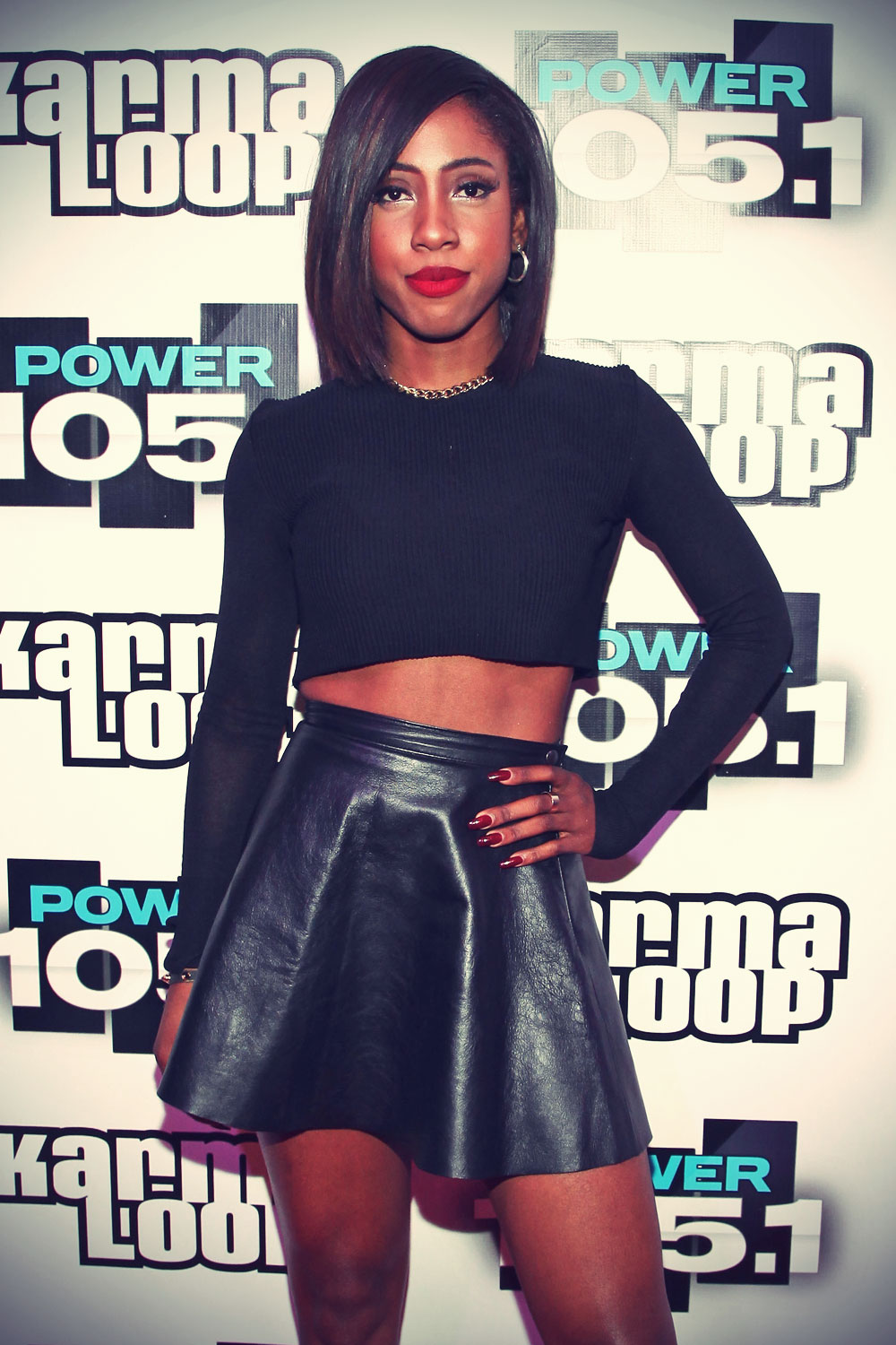 Sevyn Streeter performing at Power 105.1's Powerhouse 2013