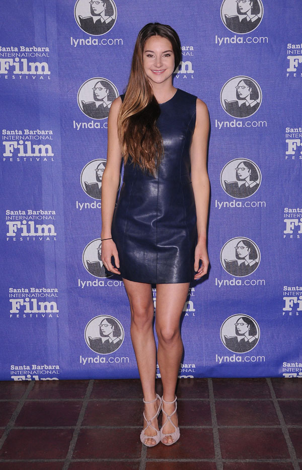 Shailene Woodley at Santa Barbara International Film Festival