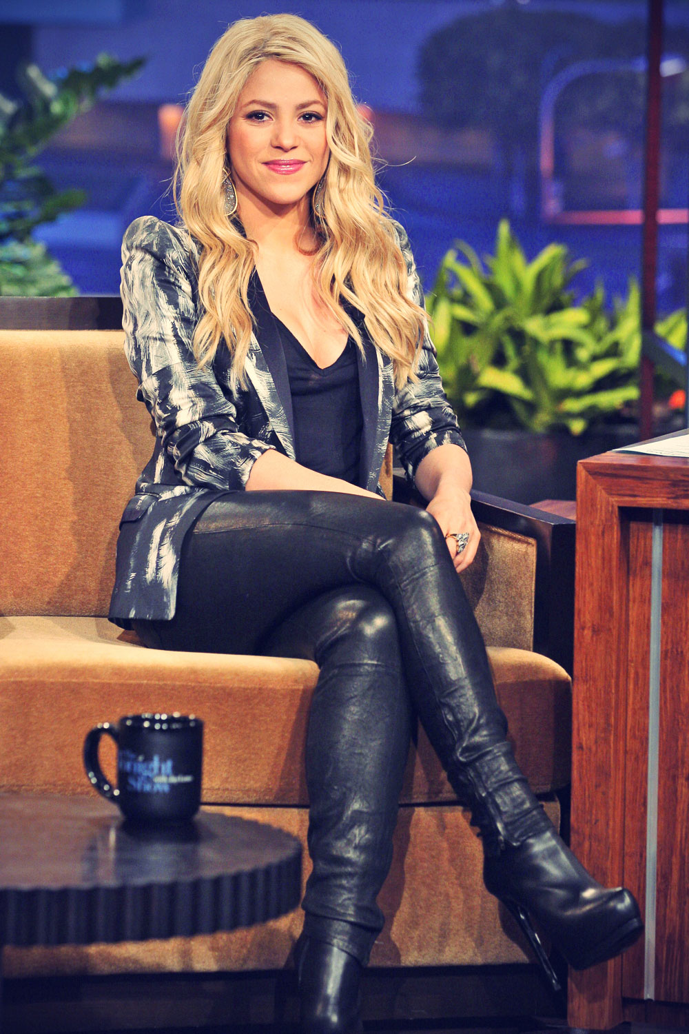 Shakira on the Tonight Show with Jay Leno