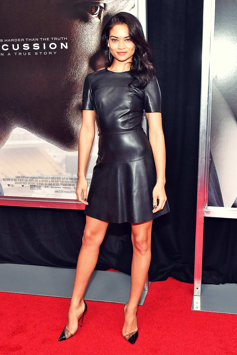 Shanina Shaik at Concussion New York City Premiere