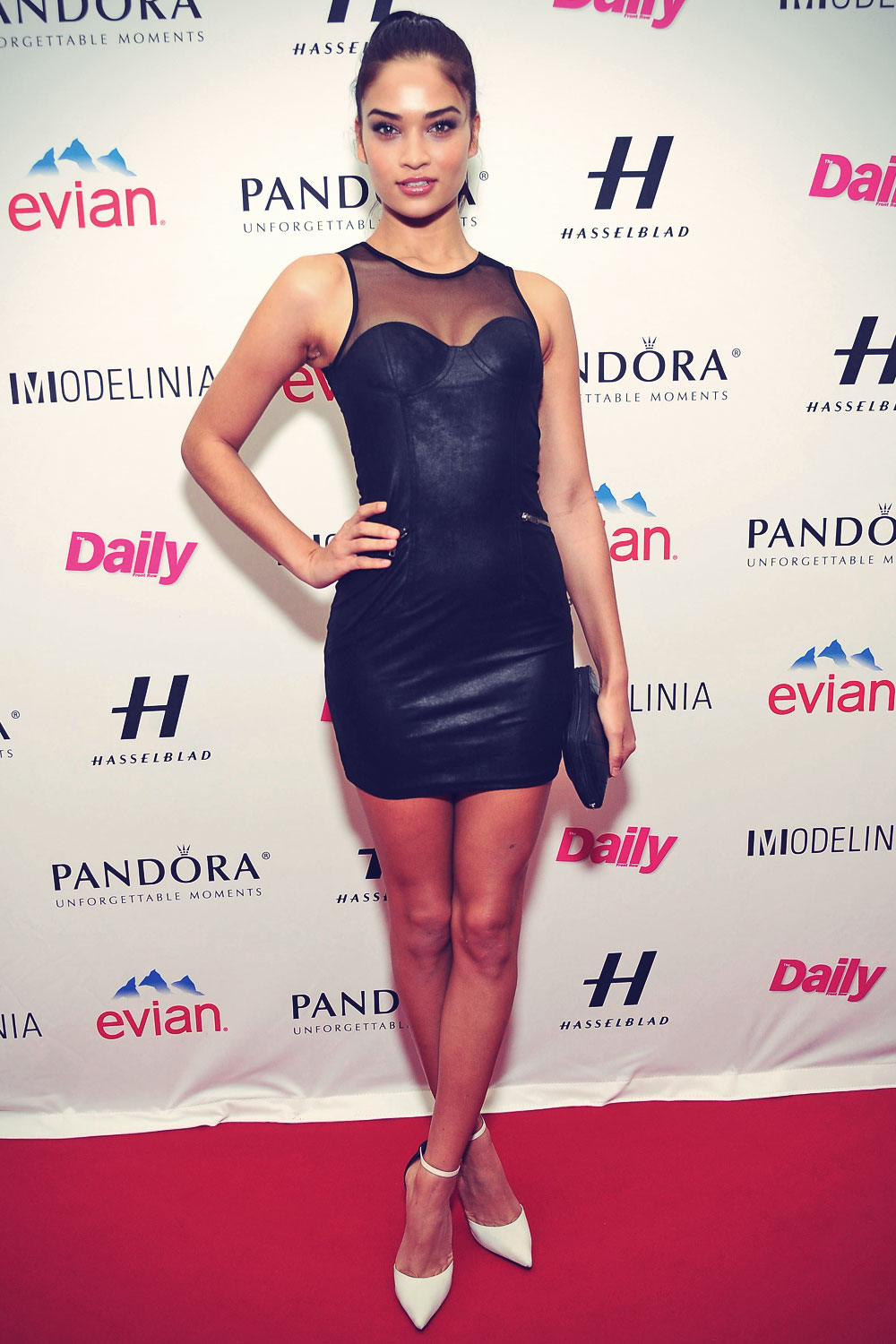 Shanina Shaik attends Models Issue Party