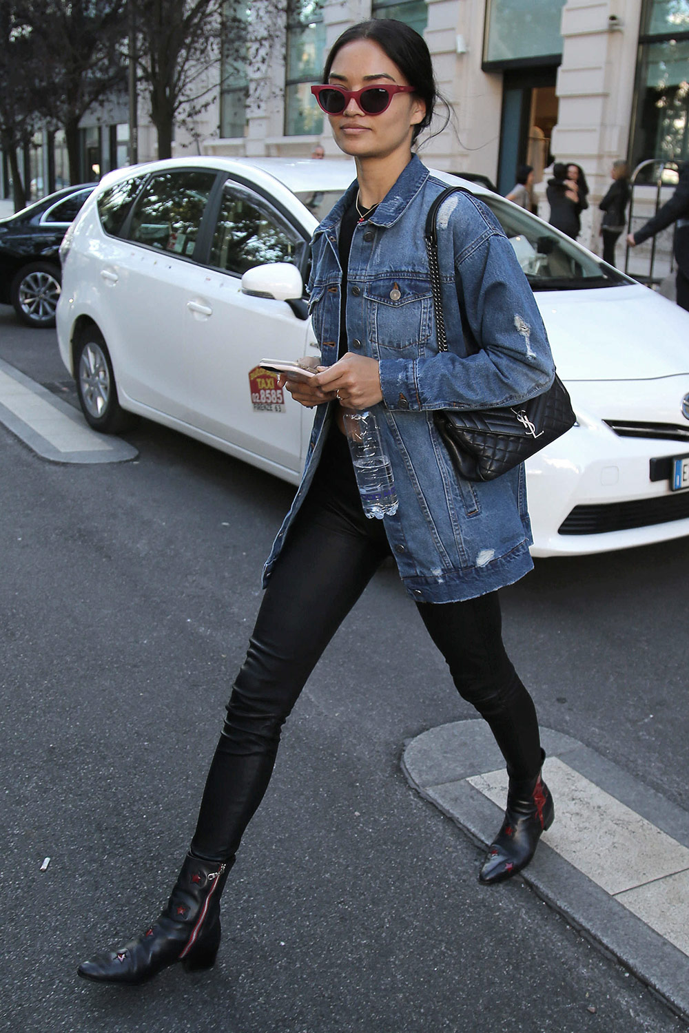 Shanina Shaik out & about in Milan