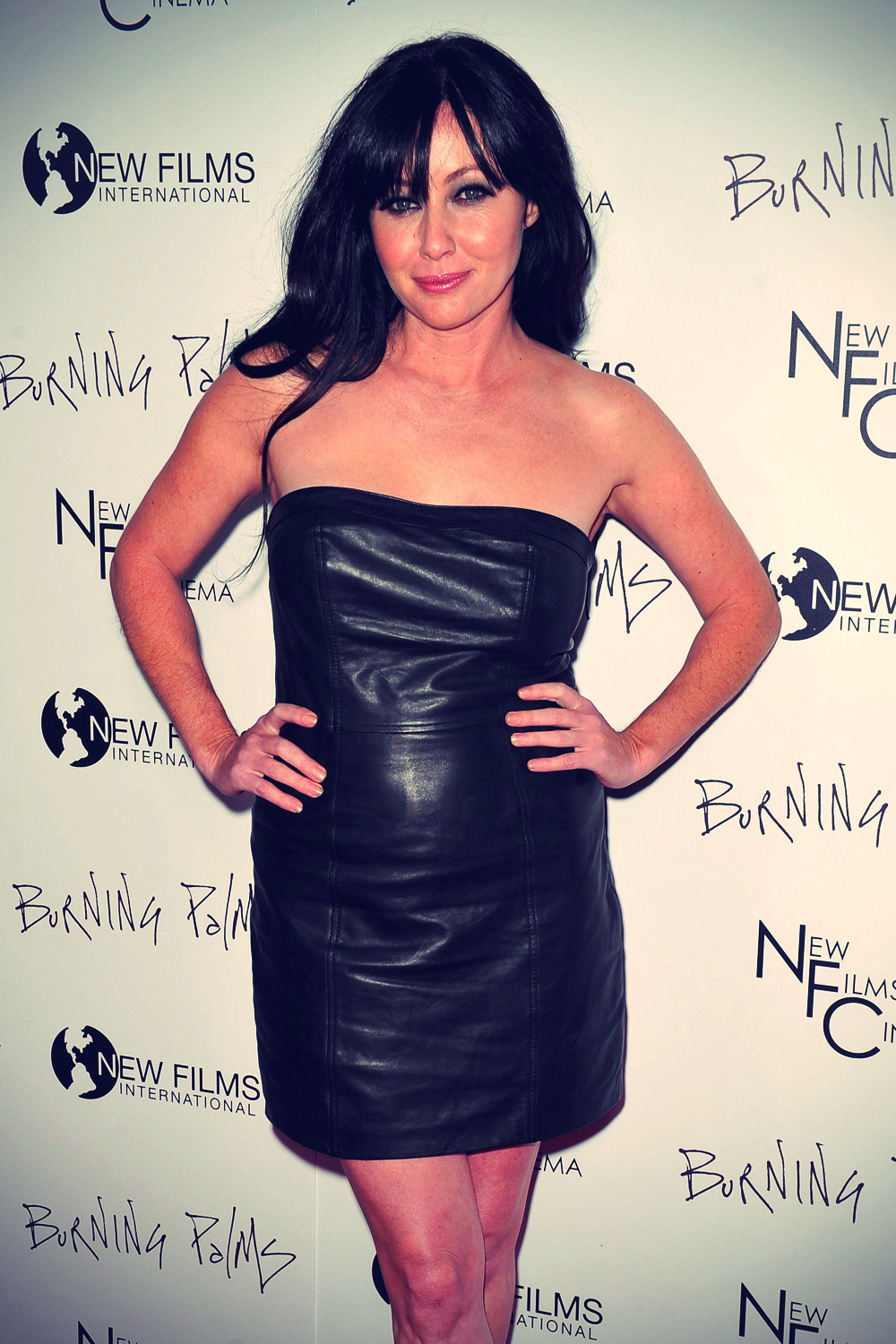 Shannen Doherty at Premiere of Burning Palms