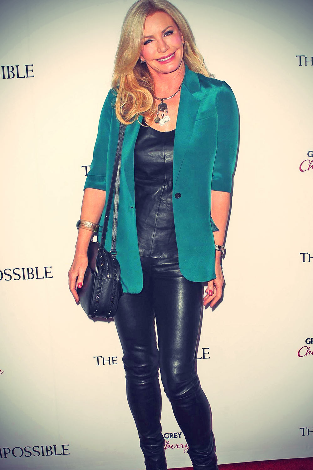Shannon Tweed attends Los Angeles Premiere of The Impossible - Leather ...