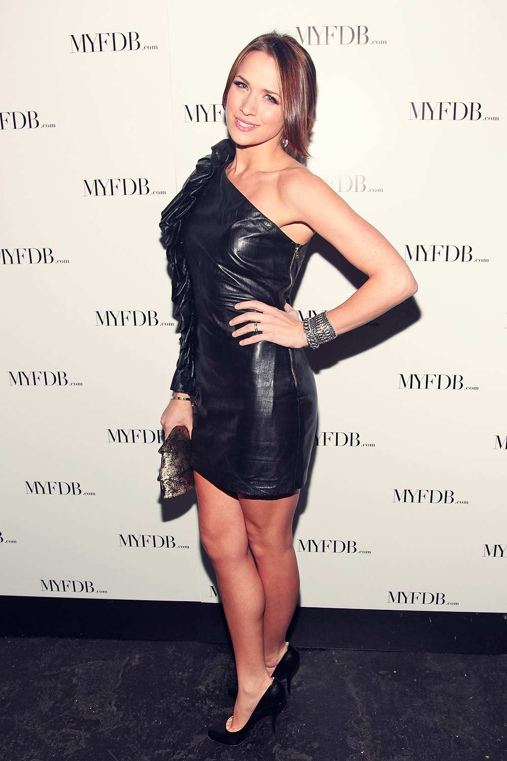 Shantel VanSanten attends My Fashion Database Fashion Show