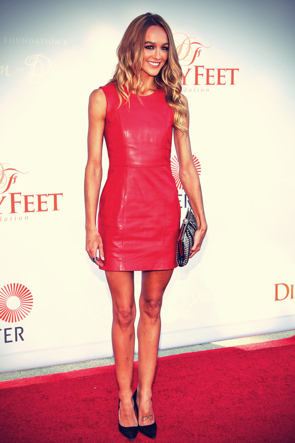 Sharni Vinson attends the 3rd annual Dizzy Feet Foundation's celebration of dance gala