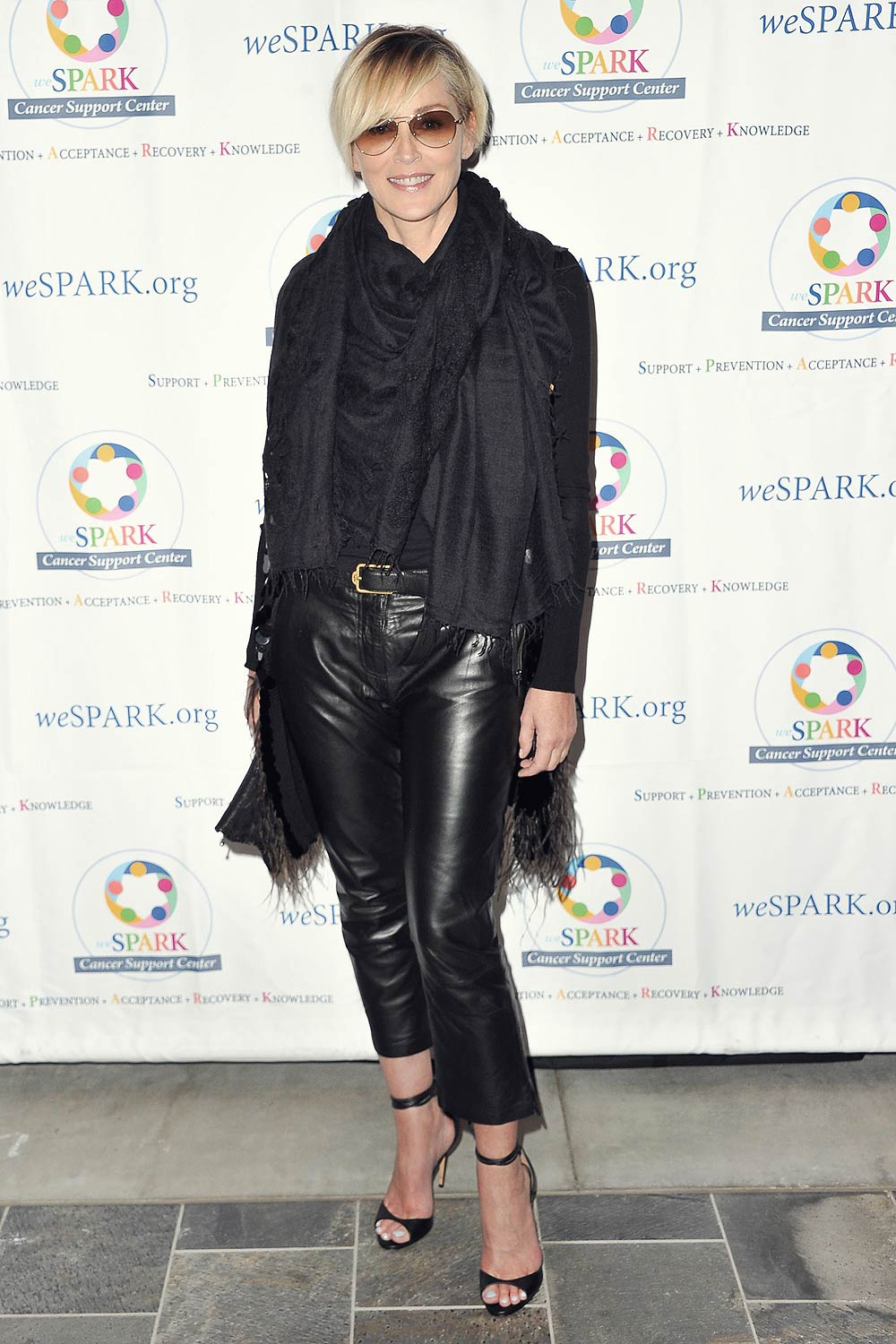 Sharon Stone attends the weSPARK Comedy Night