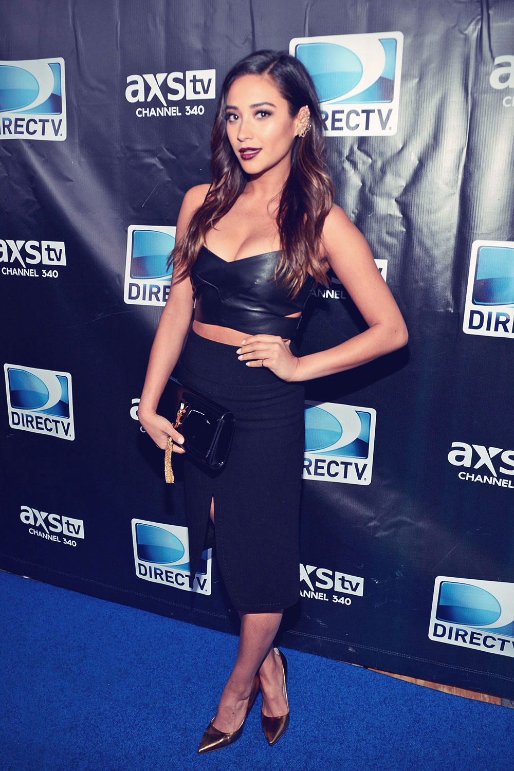 Shay Mitchell DirecTV Super Saturday Night