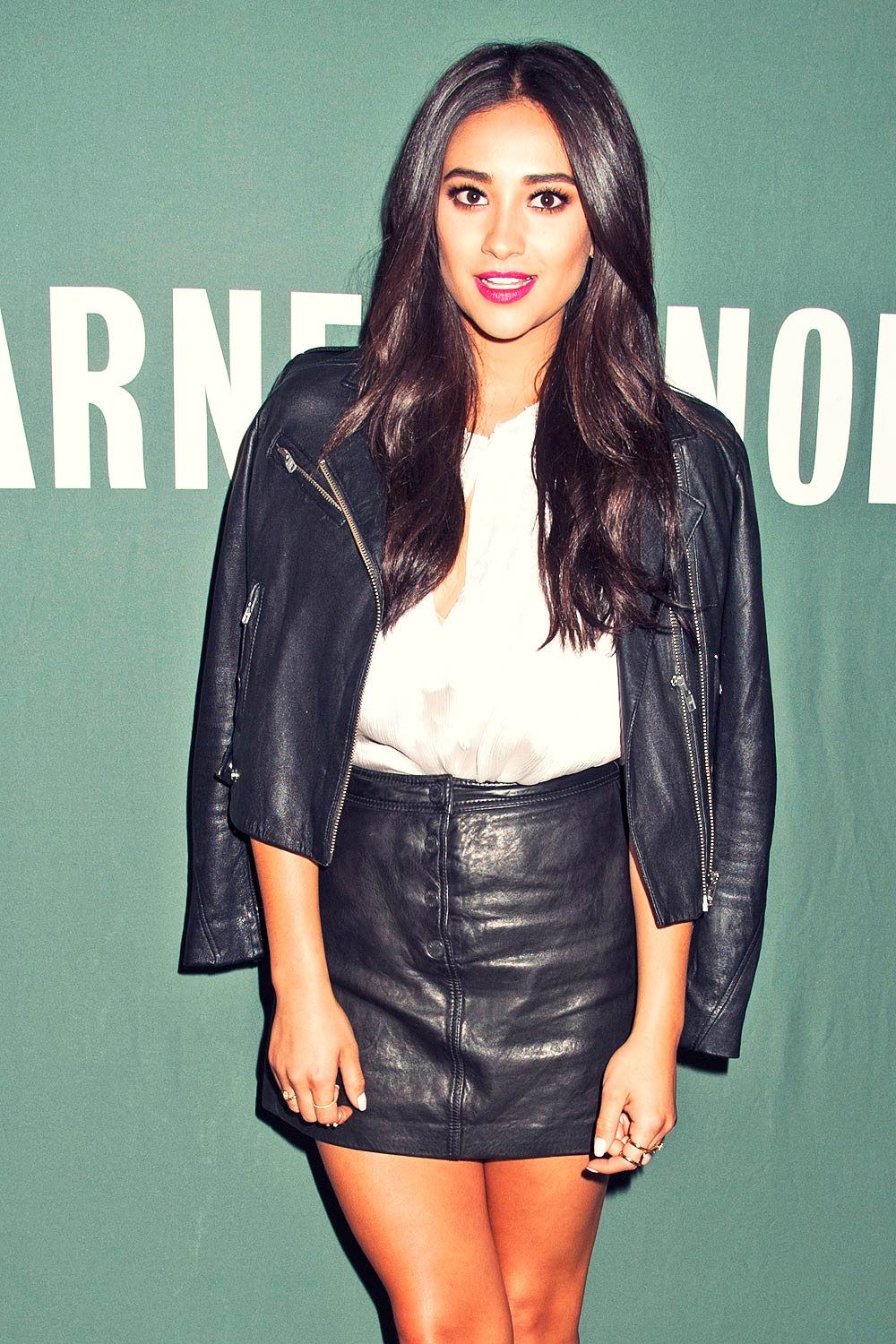 Shay Mitchell promotes her new book Bliss