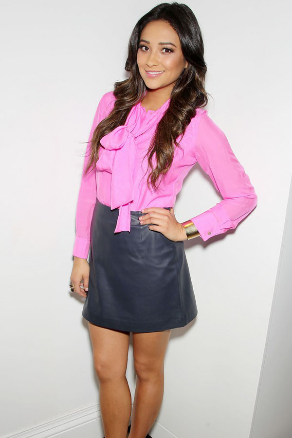 Shay Mitchell out for Raoul's shop launch at Bloomingdale's