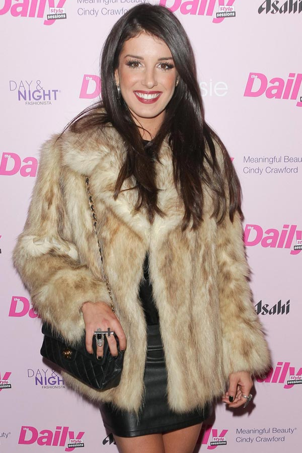 Shenae Grimes at Daily Style Sessions in NYC