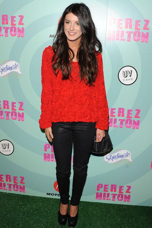 Shenae Grimes at  Perez Hiltons Mad Hatter Birthday Bash